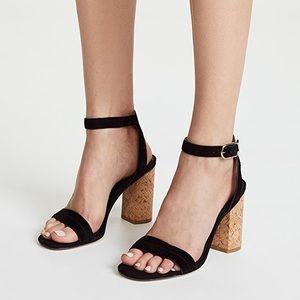 Joie Okaba Cork ankle strap open toe sandal 39.5
